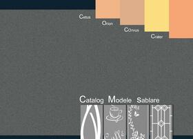 Catalog Modele Sticlă sablată