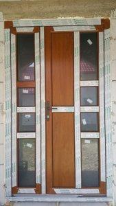 Casa Coaja Nucu - Usi de exterior Iaslovat